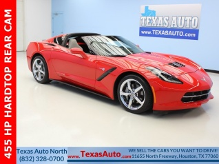 Used 2014 Chevrolet Corvette Stingray with 1LT Coupe for Sale in Houston, TX