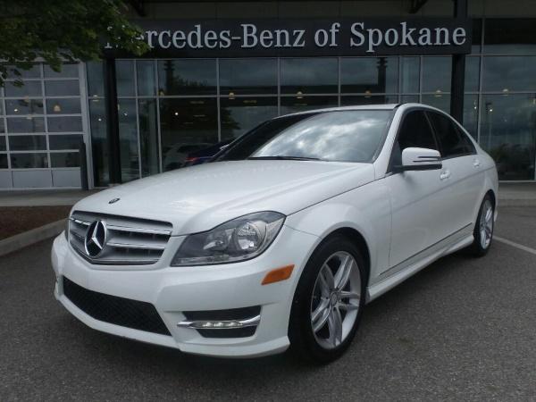 Used mercedes benz c for sale in spokane wa u s news for Mercedes benz spokane