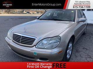 Mercedes Benz Nashville >> Used Mercedes Benz S Class For Sale In Nashville Tn Truecar