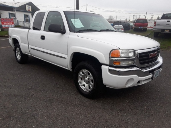 2006 Gmc Sierra 1500 Sle2 Ext Cab Short Box 4wd Automatic For Sale