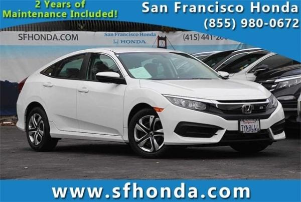2017 Honda Civic in San Francisco, CA