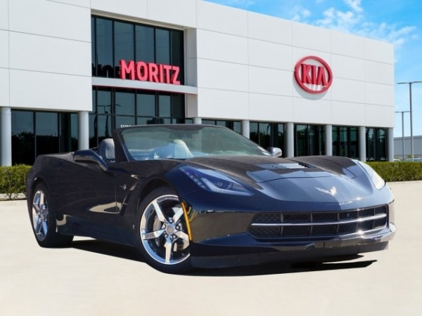 2014 Chevrolet Corvette Stingray With 3lt Convertible For