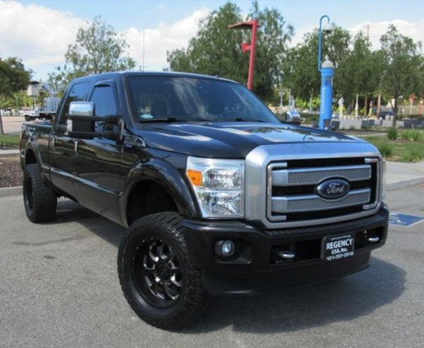 2013 Ford Super Duty F-250 Platinum