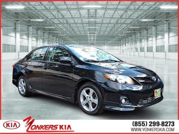 2012 Toyota Corolla 4dr Sedan Auto S $9,950 Yonkers, NY