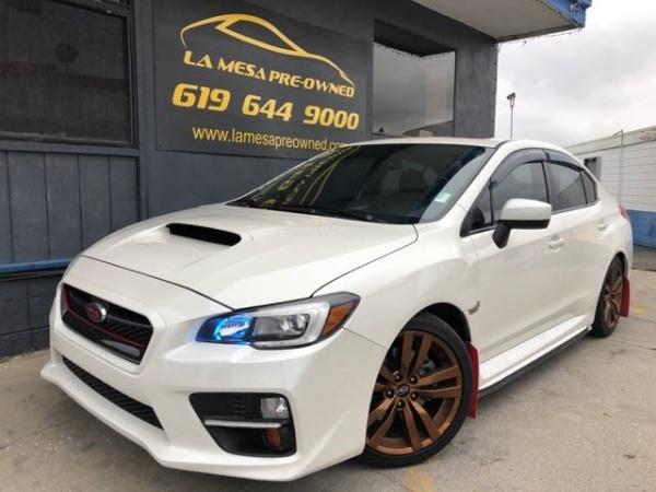 2016 Subaru Impreza WRX Limited