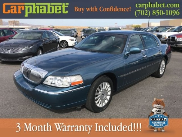 2003 Lincoln Town Car Signature For Sale In Las Vegas Nv Truecar