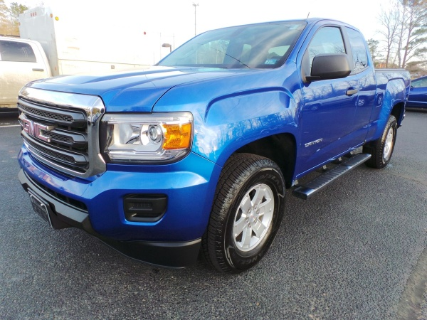 2018 GMC Canyon Extended Cab Standard Box 2WD