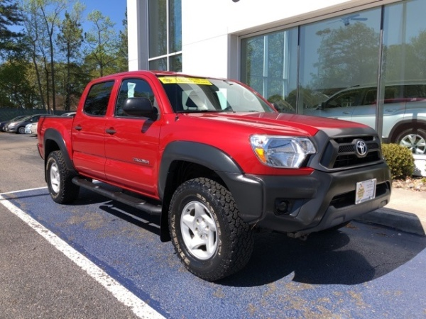 2015 Toyota Tacoma Double Cab V6 4WD Manual