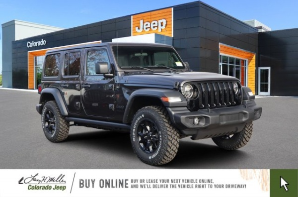 2020 Jeep Wrangler in Aurora, CO
