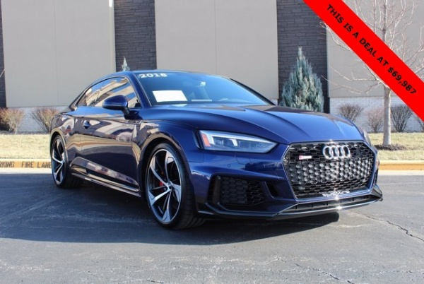2018 Audi RS5 Coupe quattro tiptronic