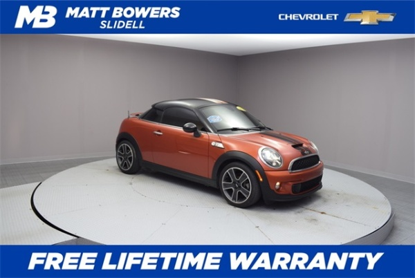 2012 MINI Coupe Cooper S