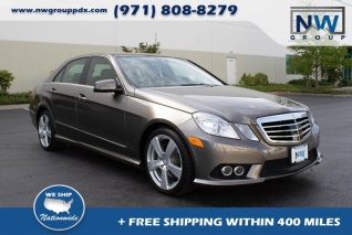 Mercedes Benz Of Portland >> Used Mercedes Benz E Class For Sale In Portland Or Truecar
