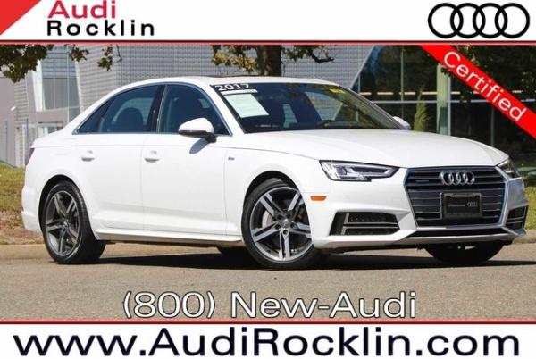2017 Audi A4 in Rocklin, CA