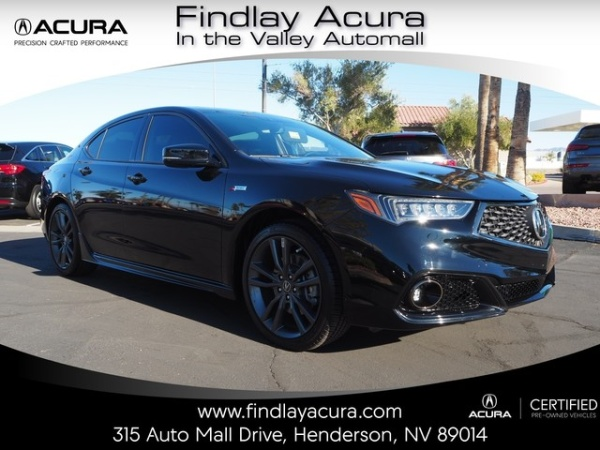2018 Acura TLX 3.5L FWD with A-Spec Package