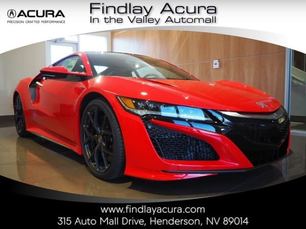 2018 Acura NSX Coupe 3.5L Automatic