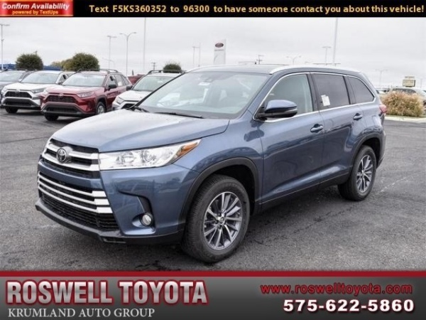 2019 Toyota Highlander in Roswell, NM