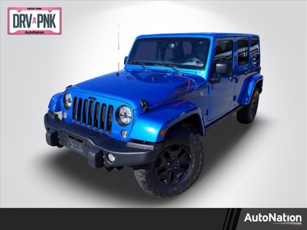 2016 Jeep Wrangler in Fort Worth, TX