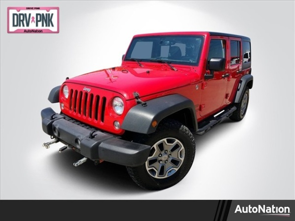 2015 Jeep Wrangler in Fort Worth, TX