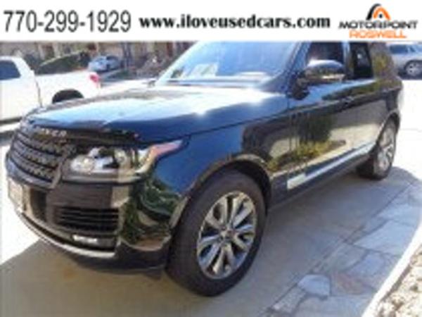 2016 Land Rover Range Rover Diesel