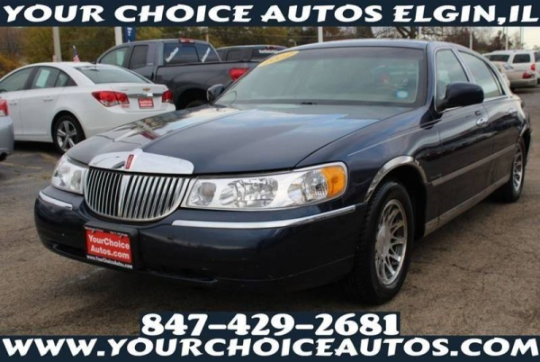 2002 Lincoln Town Car Signature For Sale In Elgin Il Truecar