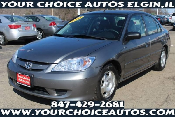 2004 Honda Civic Hybrid Sedan Manual