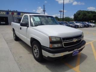 2007 Chevrolet Silverado 1500 Work Truck Regular Cab Standard Box 2wd For In Houston
