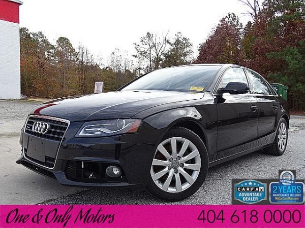 Audi For Sale In Ga >> 2012 Audi A4 Premium Sedan 2.0T quattro Automatic For Sale in Atlanta, GA | TrueCar