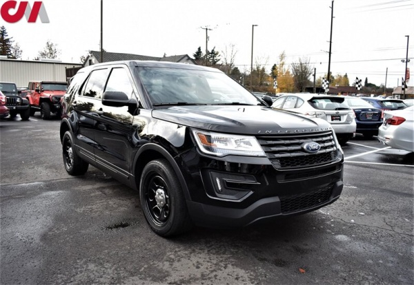 2017 Ford Explorer Police Interceptor
