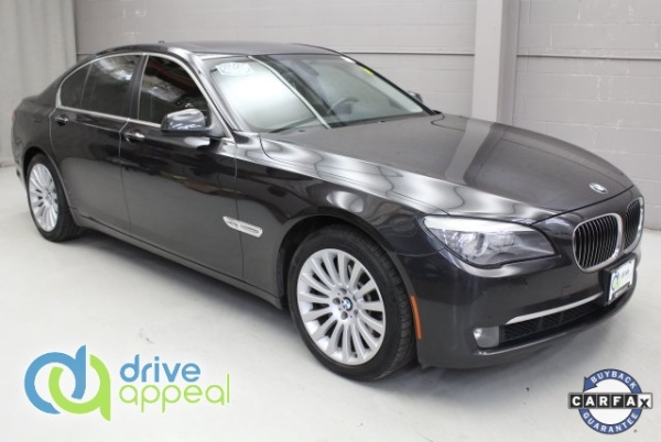 2012 BMW 7 Series 750i xDrive