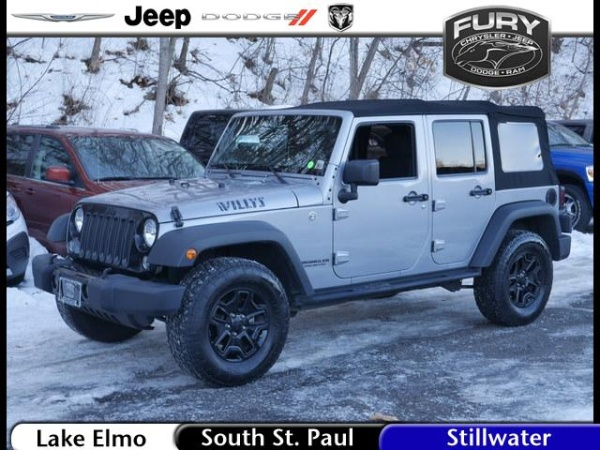 2016 Jeep Wrangler in South St. Paul, MN