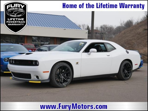 Fury Motors South St Paul >> 2019 Dodge Challenger R T Scat Pack Rwd For Sale In South St