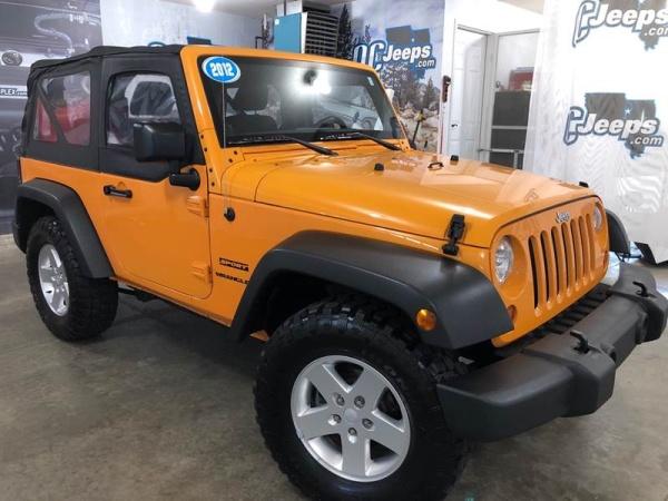 2012 Jeep Wrangler in Eldridge, IA