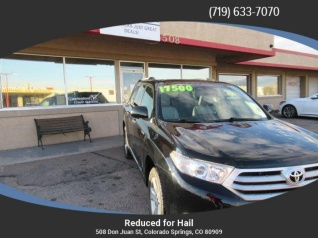 2017 Toyota Highlander Limited V6 4wd For In Colorado Springs Co