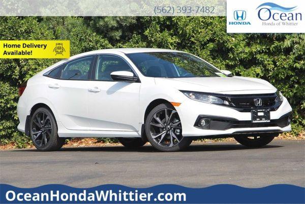 2020 Honda Civic in Whittier, CA