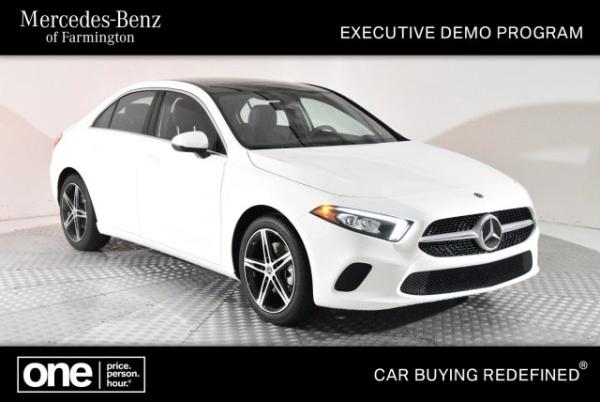 Mercedes Benz Of Farmington >> 2019 Mercedes Benz A Class A 220 Fwd For Sale In Farmington