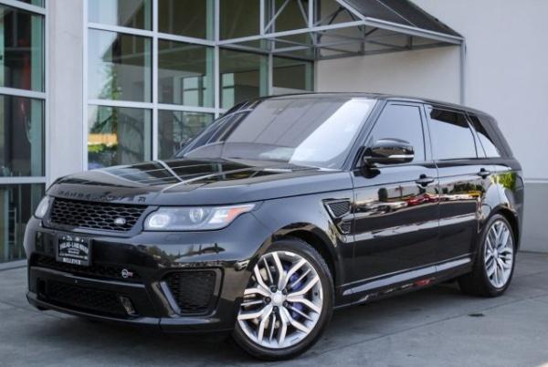 Land Rover Bellevue >> 2016 Land Rover Range Rover Sport Svr V8 For Sale In