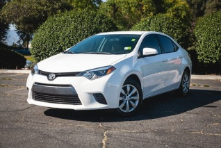 Used 2016 Toyota Corolla LE CVT For Sale In West Covina, CA