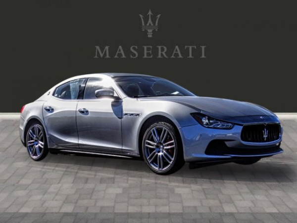 2017 Maserati Ghibli Sedan RWD