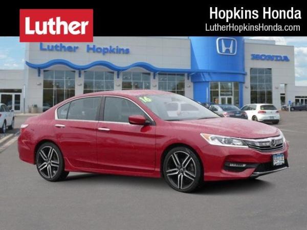 2016 Honda Accord In Hopkins Mn