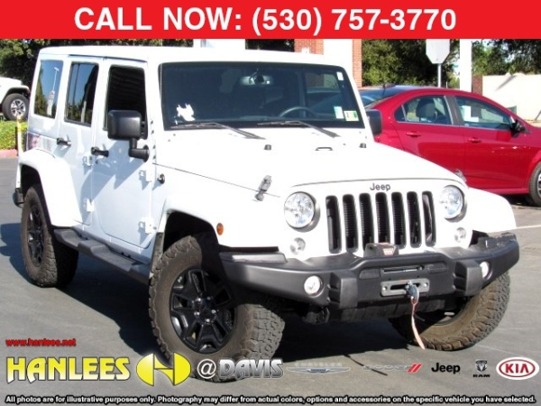 2016 Jeep Wrangler in Davis, CA