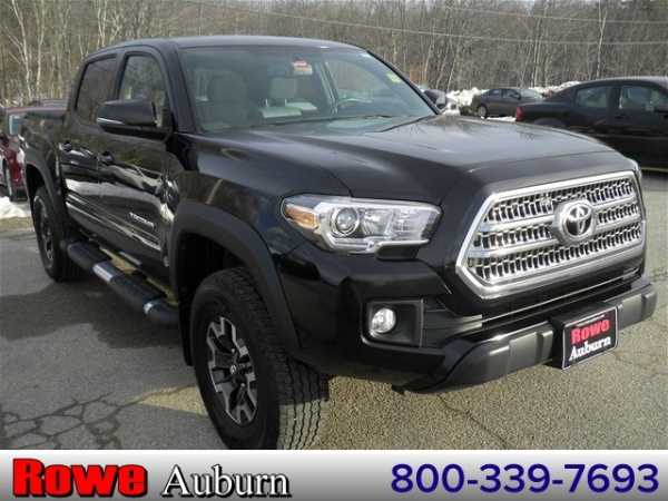 2016 toyota tacoma sr double cab 5 39 bed v6 4wd automatic for sale in auburn me truecar. Black Bedroom Furniture Sets. Home Design Ideas