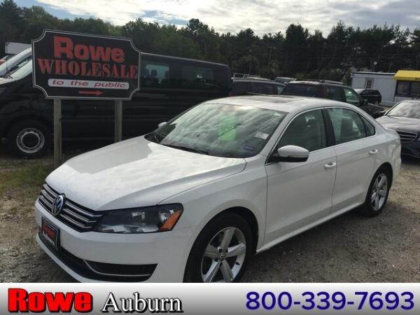 2013 Volkswagen Passat in Auburn, ME