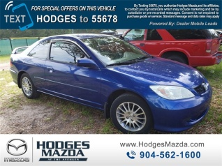 2005 Honda Civic Ex Coupe Automatic For In Jacksonville Fl