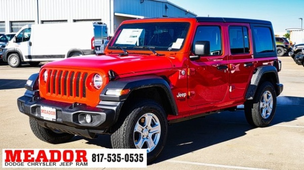 2020 Jeep Wrangler in Fort Worth, TX
