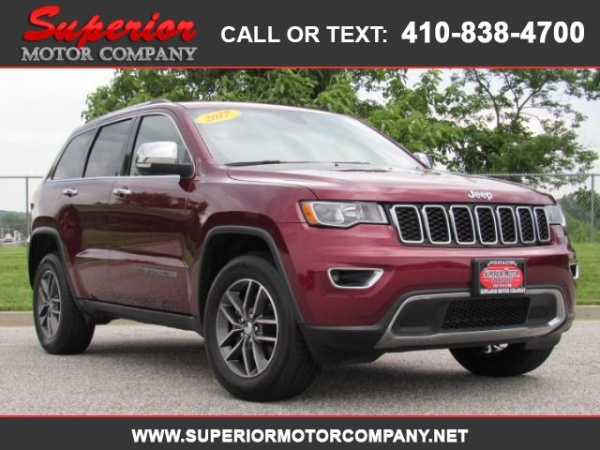 2017 Jeep Grand Cherokee in Bel Air, MD