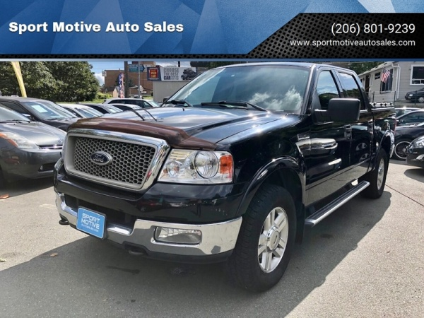 2004 Ford F150 Lariat >> 2004 Ford F 150 Lariat Supercrew 5 5 Box 4wd For Sale In