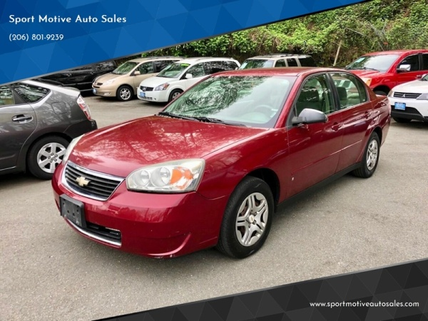 2007 Chevrolet Malibu Reviews, Ratings, Prices - Consumer
