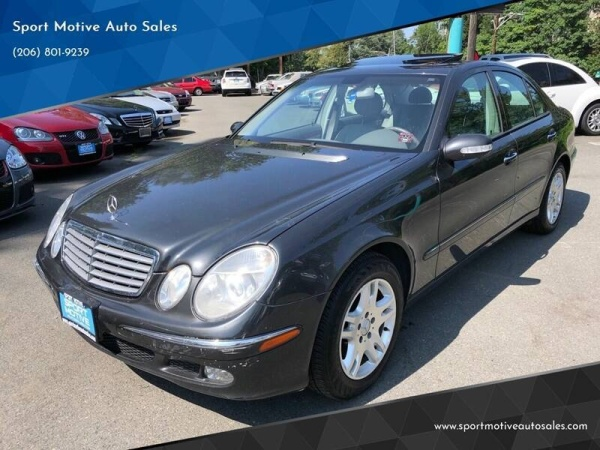 2003 Mercedes-Benz E-Class in Seattle, WA