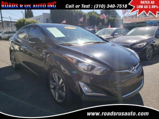 2015 Hyundai Elantra Limited Sedan Automatic Ulsan Plant For Sale In Los Angeles