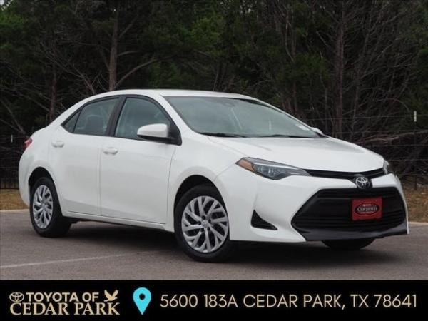 2018 Toyota Corolla in Cedar Park, TX